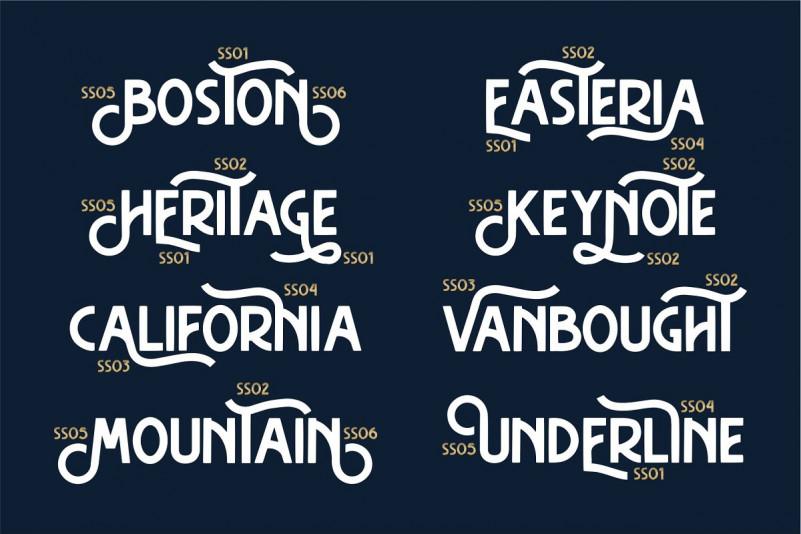 Hasthon Vintage Font - Befonts com
