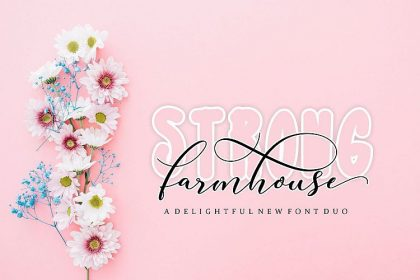 Strong Farmhouse Font - Befonts - Download free fonts