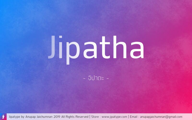 Jipatha Sans Font