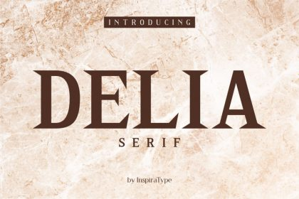Delia - Regular and Bold