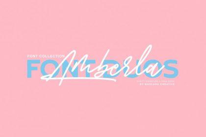 Amberla Signature Font