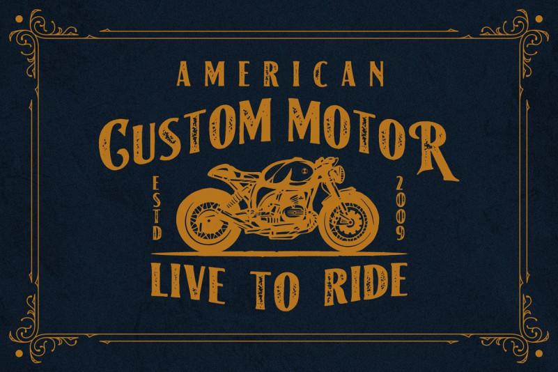 American Label Vintage Font - Befonts com