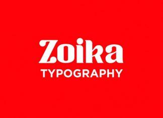 Zoika Typeface