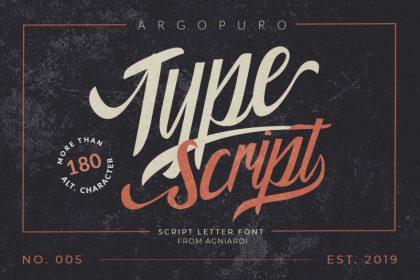 Argopuro Script Font