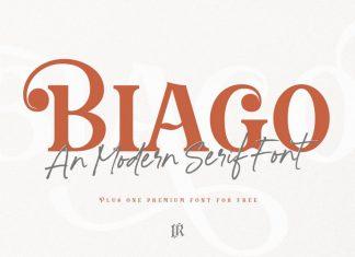 Biago Font Duo