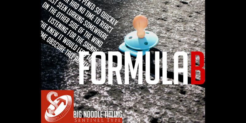 Big Noodle Titling Font Family