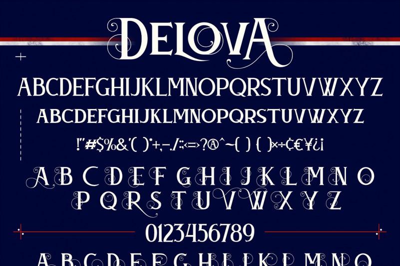 Delova Font