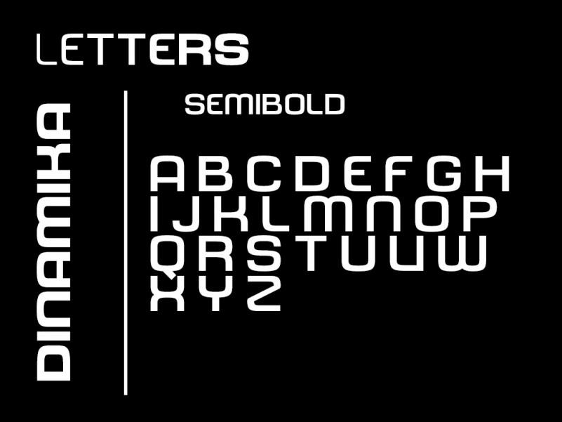 Dinamika Font Family