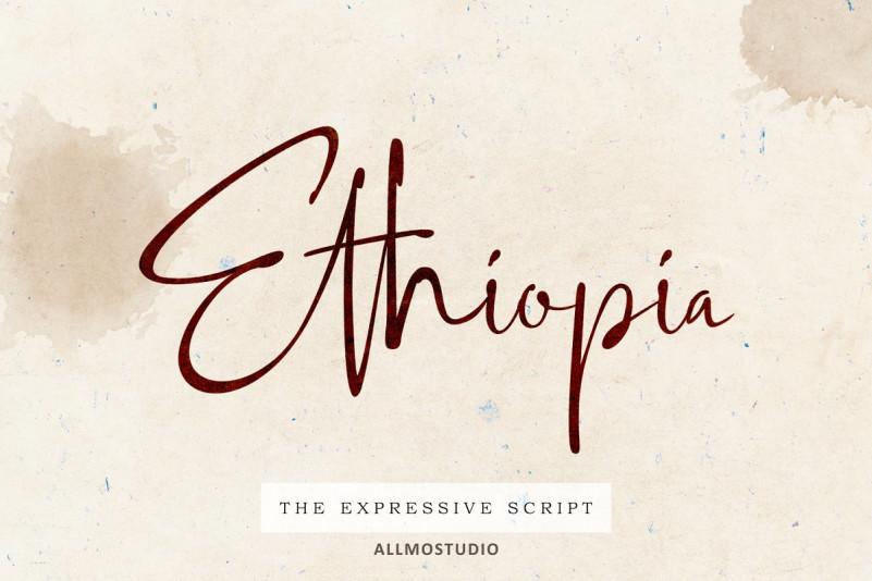 Ethiopia Script Font
