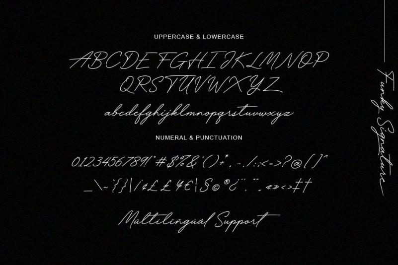 Funky Font