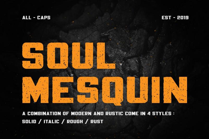 Mesquin Typeface