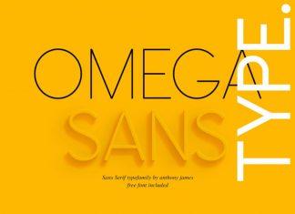 Omega Sans Free Font