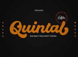 Quintal Bold Script Font
