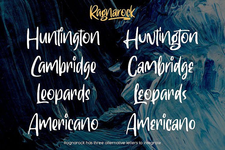 Ragnarock Font