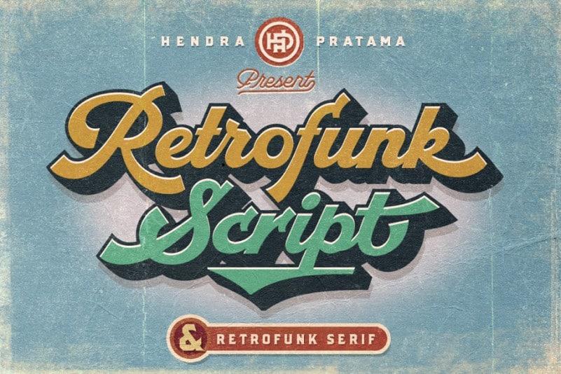 Retrofunk Font Duo