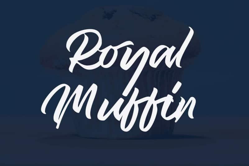 Royal Muffin Script Font - Befonts com