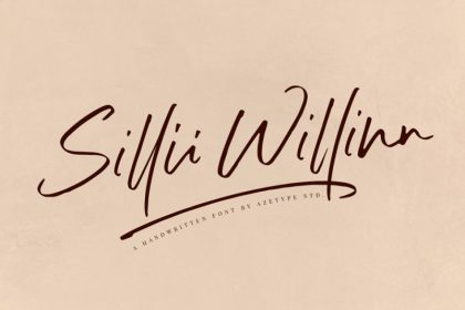 Sillii Willinn Handwritten Font