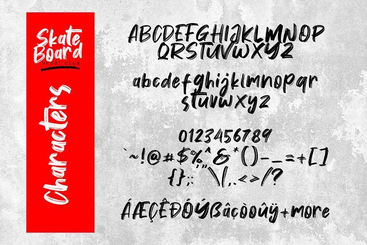 Vontens Brush Font