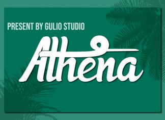 Athena Script Font