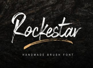 Rockestar Brush Font