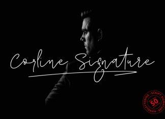 Corline Signature Font