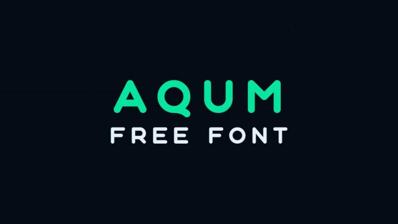Aqum Sans Serif Font
