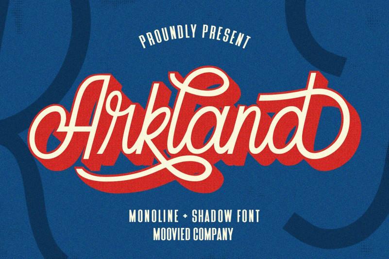 Arkland Script Font