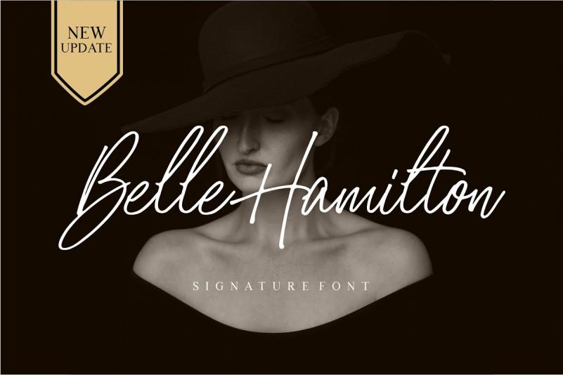 Belle Hamilton Font Duo