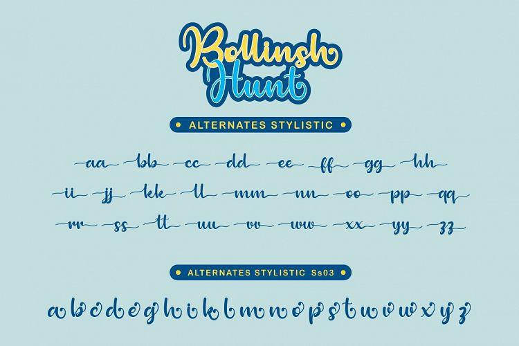 Bollinsh Hunt Font
