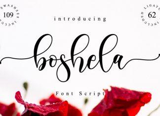 Boshela Script Font