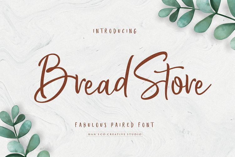 Bread Store Script Font - Befonts com