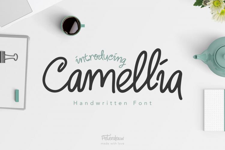 Camellia Handwritten Demo Font