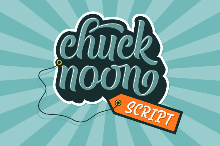 Chuck Noon Script Font