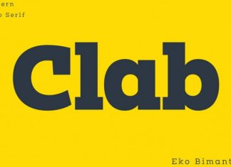 Clab Font Family