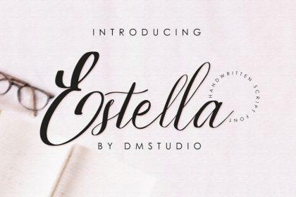 Estella Script Font