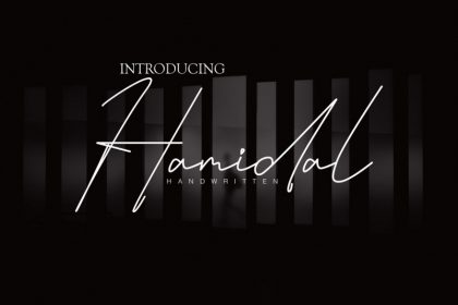 Hamidal Handwritten Font