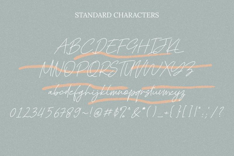 Kadung Tresno Handwritten Font