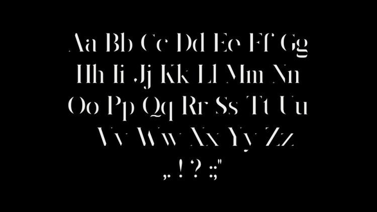 King's Gambit Font