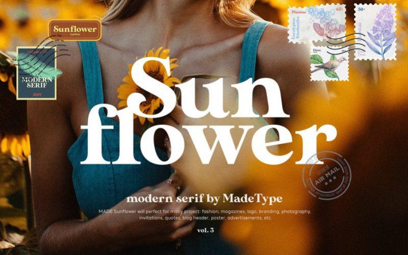 MADE Sunflower Font
