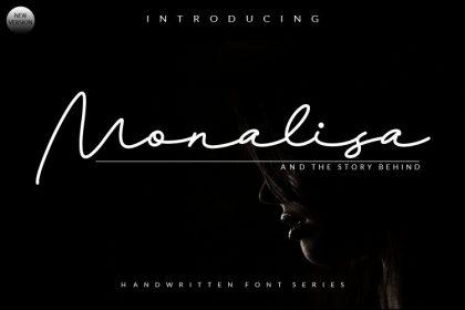 Monalisa Signature Font
