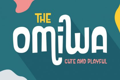 Omiwa Typeface