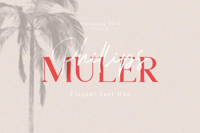 Phillips Muler Font