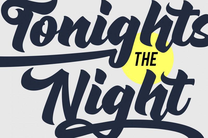 Rushing Nightshade Font