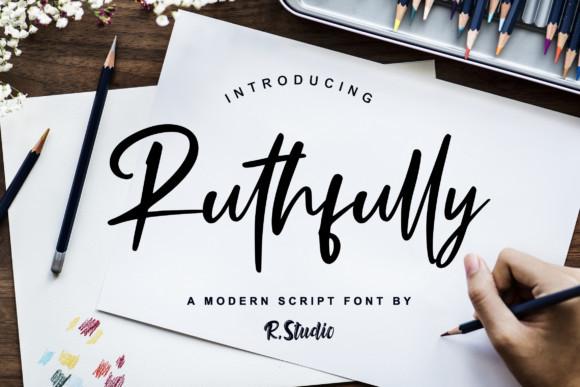 Ruthfully Handwritten Font