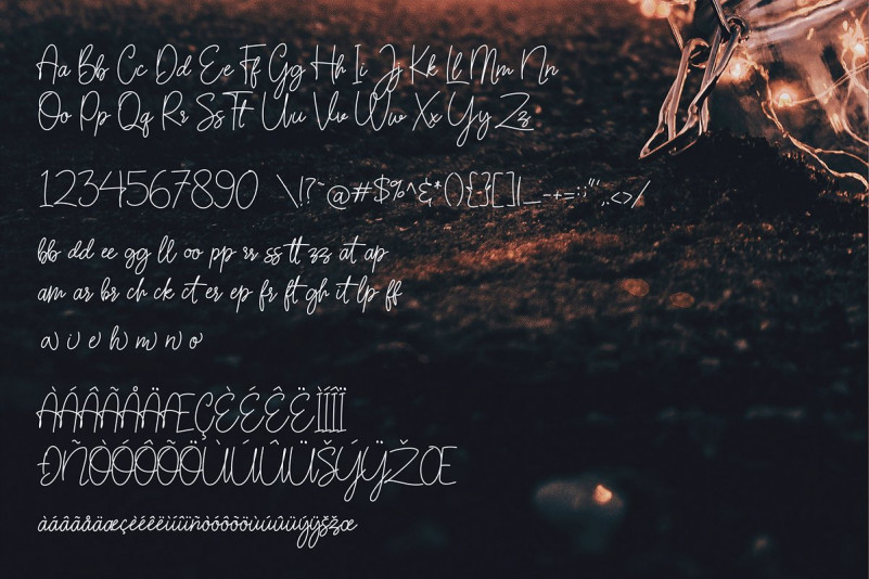 Sarantta Handwritten Script Font