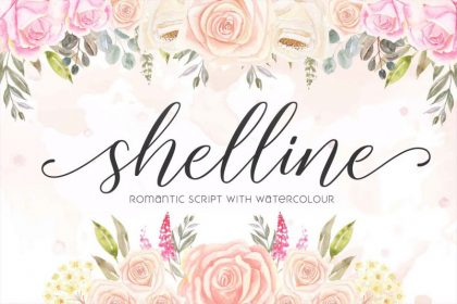 Shelline Script Font