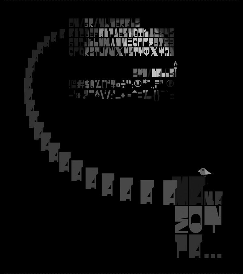 Spirt-O Display Font