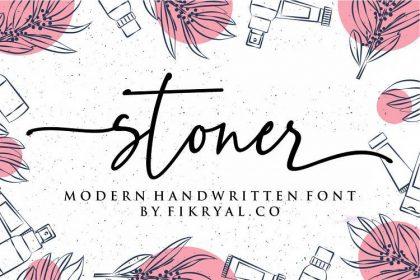 Stoner Script Font
