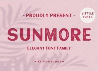 Sunmore Font Family