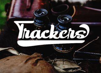 Trackers Bold Script Font